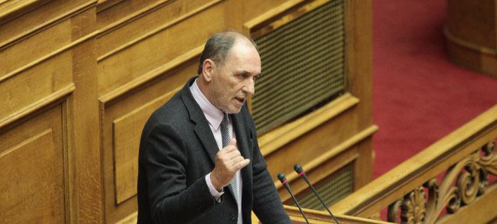Ο υπουργός Περιβάλλοντος και Ενέργειας, Γιώργος Σταθάκης/Φωτογραφία: Eurokinissi