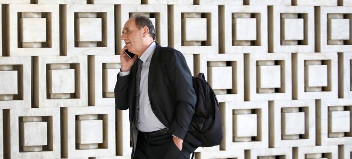 Ο Γ. Σταθάκης στο ραντεβού με τους δανειστές στο Χίλτον -Φωτογραφία: Intimenews/ΚΑΠΑΝΤΑΗΣ ΔΗΜΗΤΡΗΣ