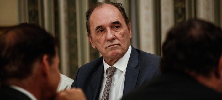 Συνέντευξη Τύπου του Γ. Σταθάκη μετά τη συνάντηση με τους μεταλλωρύχους /Φωτογραφία Αρχείου:  Alexandros Michailidis / SOOC