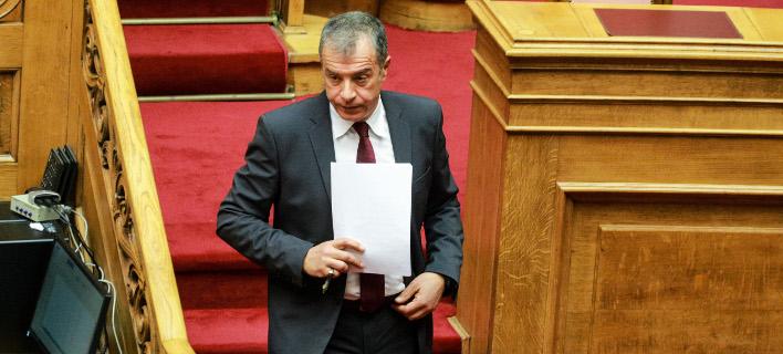 Ο Σταύρος Θεοδωράκης (Φωτο: eurokinissi)