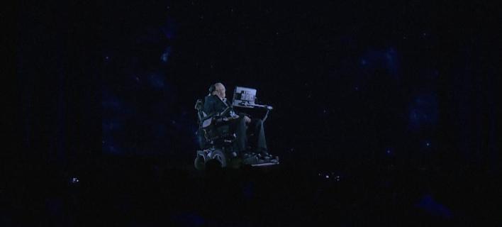 Ο Στίβεν Χόκινγκ εμφανίστηκε στο Χονγκ Κονγκ χρησιμοποιώντας ολόγραμμα [βίντεο]