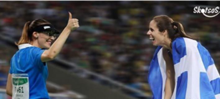 Viral: Πώς η Αννα Κορακάκη βοήθησε την Στεφανίδη να πάρει το χρυσό [βίντεο]