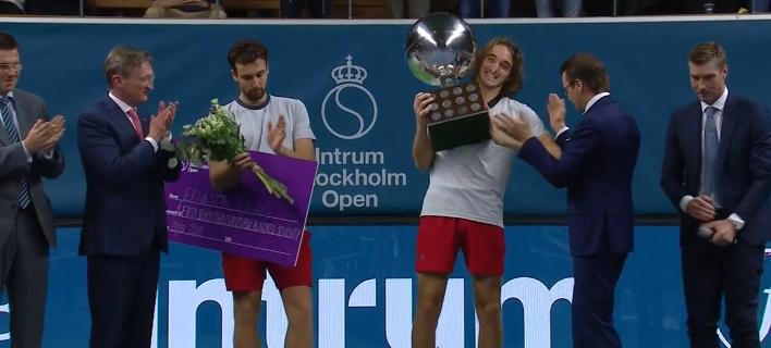 Θρίαμβος του Τσιτσιπά στη Στοκχόλμη -Κατέκτησε τον πρώτο του τίτλο ATP
