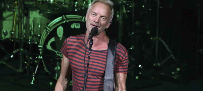 Ο Sting είναι ανάμεσα στους καλλιτέχνες που υπογράφουν την επιστολή/ Φωτογραφία: AP- Katie Darby