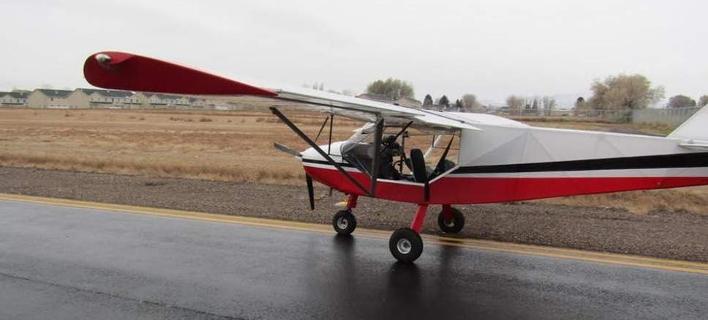 Το αεροσκάφος που έκλεψαν οι δύο έφηβοι -Φωτογραφία: Uintah County Sheriff's Office