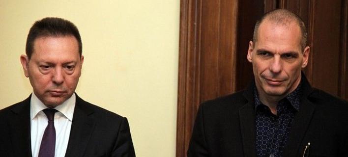 «Βόμβες» Στουρνάρα για Βαρουφάκη: Πήγε στην ΕΚΤ και τους είπε: «Είμαι υπουργός χρεοκοπημένης χώρας»