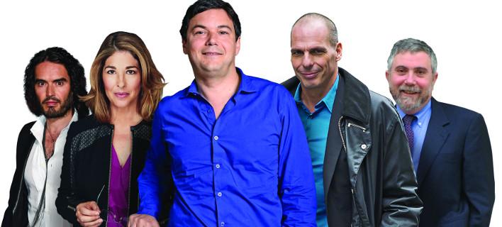 Οι κορυφαίοι στοχαστές για το 2015: Στη δεύτερη θέση ο Γιάνης Βαρουφάκης