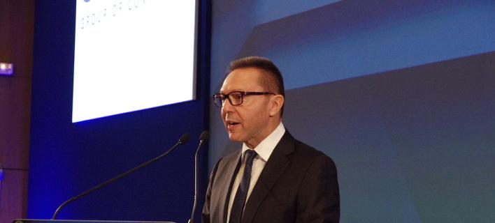 Συνάντηση με το προεδρείο της Ελληνικής Ενωσης Τραπεζών θα έχει σήμερα ο διοικητής της Τράπεζας της Ελλάδας, Γιάννης Στουρνάρας/ Φωτογραφία: Eurokinissi