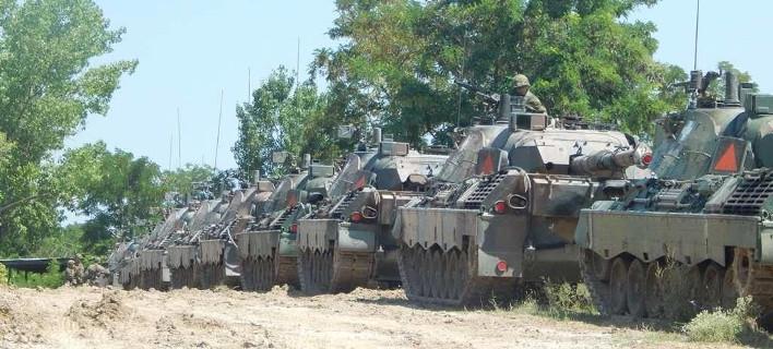 Ο Στρατός έβγαλε έξω τα άρματα -Η αξιολόγηση της 34ης Επιλαρχίας Μέσων Αρμάτων