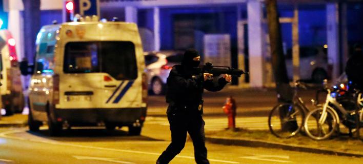 Αναφορές για πυροβολισμούς σε συνοικία στο Στρασβούργο  (Φωτογραφία: AP)