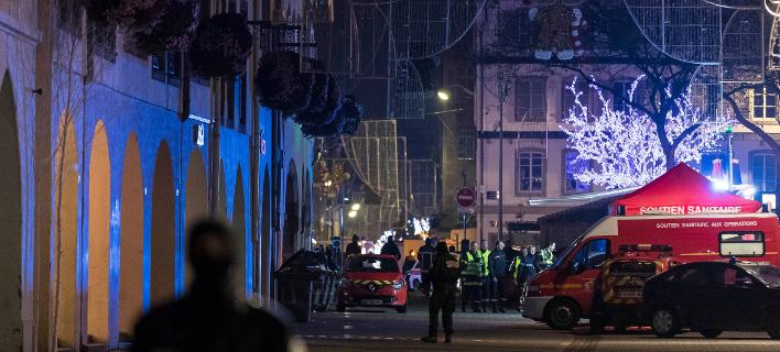 επίθεση στη χριστουγεννιάτικη αγορά του Στρασβούργου/Φωτογραφία: AP