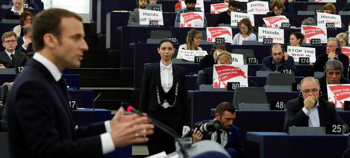Ο Μακρόν μίλησε για την Ευρώπη -Λαϊκισμός, ευρωεκλογές, δημοκρατία
