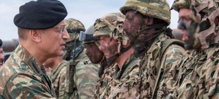 Στρατιώτες/ Φωτογραφία Αρχείου: Eurokinissi
