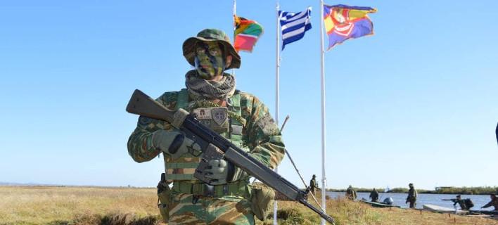 Στέλεχος της XIIης Μηχανοκίνητης Μεραρχίας Πεζικού «ΕΒΡΟΣ» / Φωτογραφία: ΥΠΕΘΑ