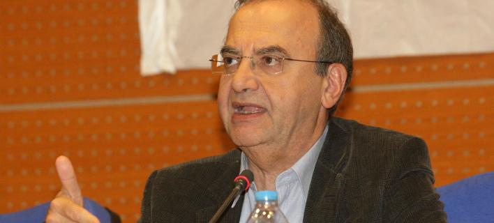 Ο Δημήτρης Στρατούλης (Φωτογραφία: EUROKINISSI)
