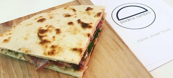 Piadina Lumbro: Αυθεντικό street food από την καρδιά της Ιταλίας, στο κέντρο της Αθήνας [εικόνες]