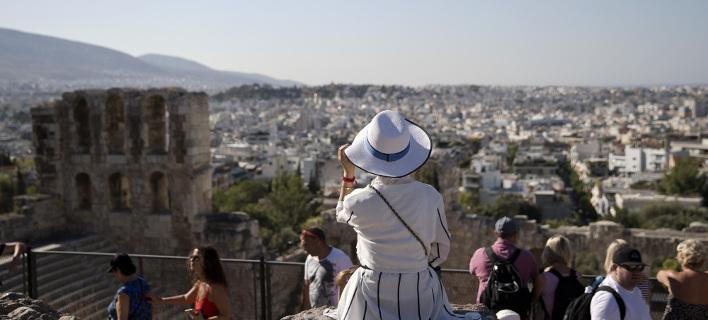 Παρακολουθώντας την πόλη από ψηλά, φωτογραφίες: Apimages