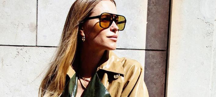 Μοντέλο με γυαλιά ηλίου /Φωτογραφία: Instagram @pernilleteisbaek