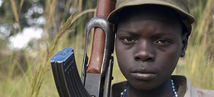 Φρίκη στο Νότιο Σουδάν: 16.000 παιδιά έχουν αναγκαστεί να γίνουν στρατιώτες