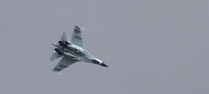 Συνετρίβη ουκρανικό Su-27/ Φωτογραφία αρχείου: AP- Alexander Ermochenko