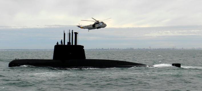 To υποβρύχιο ARA San Juan, που χάθηκε στο Νότιο Ατλαντικό στις 15 Νοεμβρίου (Φωτογραφία: ΑΡ)