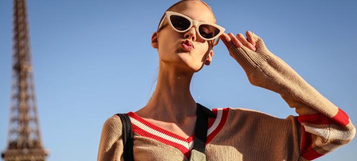 H Alina Egorova στο Παρίσι. Φωτογραφία: Shutterstock