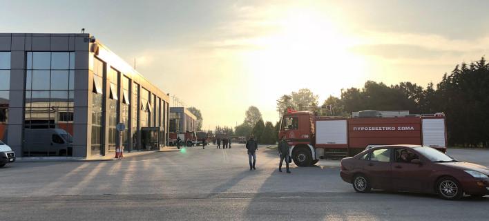 Ξεκινάει άμεσα η καταγραφή ζημιών στο εργοστάσιο της Sunlight