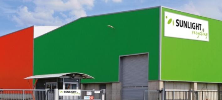 To εργοστάσιο ανακύκλωσης της Συστήματα Sunlight
