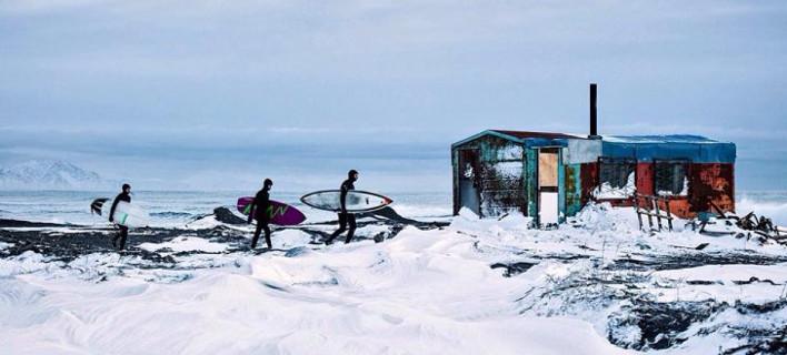 Σέρφινγκ στη Σιβηρία τον χειμώνα -Ο νέος προορισμός-φετίχ