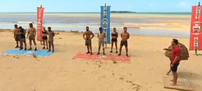 Survivor: Ο Γιάννης Σπαλιάρας κάνει γυμνισμό και ο Ντάνος γκάφες (VIDEO)