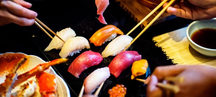 Τι δεν πρέπει να κάνετε σε ένα sushi bar. Φωτογραφία: Pexels