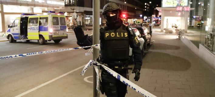 Εκρηξη έξω από σταθμό του μετρό στη Στοκχόλμη (Φωτογραφία αρχείου: AP/ Markus Schreiber)