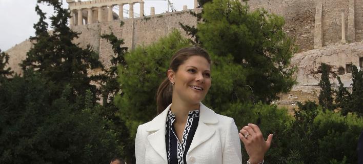 Φωτογραφία: AP- Η πριγκίπισσα της Σουηδίας στην Ελλάδα