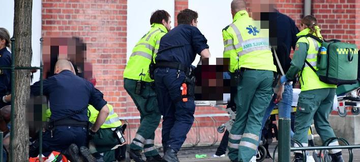 Ενοπλος άρχισε να πυροβολεί θαμώνες κλαμπ στο Μάλμε (Φωτογραφία: Aftonbladet)