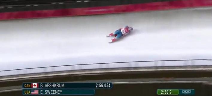 Τρομακτικό ατύχημα Αμερικανίδας στους Χειμερινούς Ολυμπιακούς -Το σοκ της μητέρας της [βίντεο]