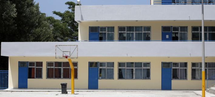 Προαύλιος χώρος σχολείου/ Φωτογραφία: Εurokinissi- ΣΤΕΛΙΟΣ ΜΙΣΙΝΑΣ
