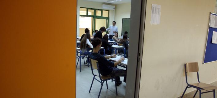 μαθητές στην τάξη/Φωτογραφία: Eurokinissi