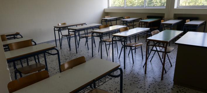 Δασκάλα στα Ιωάννινα υποδέχθηκε τους μαθητές με μια έκπληξη (Φωτογραφία: EUROKINISSI/ ΓΙΑΝΝΗΣ ΠΑΝΑΓΟΠΟΥΛΟΣ)