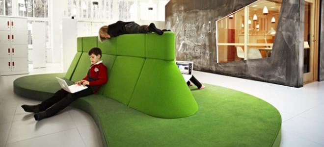 Ενα σχολείο βγαλμένο από παραμύθι -Δεν υπάρχουν θρανία μόνο καναπέδες, παιχνίδια