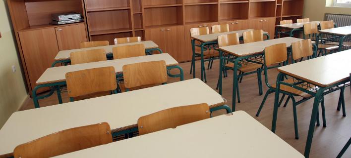 Αδεια σχολική αίθουσα -Φωτογραφία: ΜΟΤΙΟΝΤΕΑΜ/ΒΑΣΙΛΗΣ ΒΕΡΒΕΡΙΔΗΣ