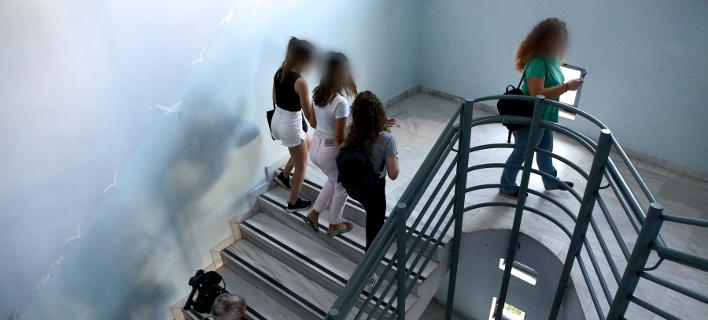μαθητές σε σχολείο/Φωτογραφία: IntimeNews