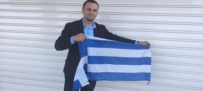 Συνελήφθη ο Αλβανός εθνικιστής που έκαιγε τις ελληνικές σημαίες