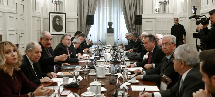 συνεδρίαση του Εθνικού Συμβουλίου/Φωτογραφία: IntimeNews