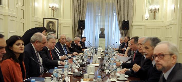 Εθνικό Συμβούλιο Εξωτερικής Πολιτικής/Φωτογραφία: Eurokinissi