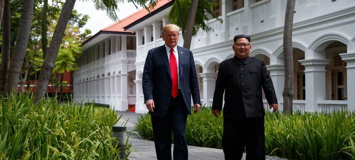 η προηγούμενη συνάντησή τους/Φωτογραφία: AP