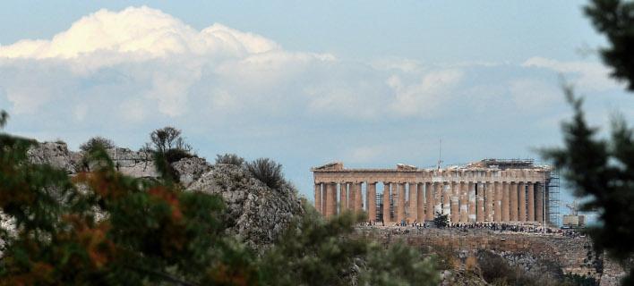 Σύννεφα πάνω από την Ακρόπολη. ΦΩΤΟΓΡΑΦΙΑ: INTIME NEWS /ΚΩΤΣΙΑΡΗΣ ΓΙΑΝΝΗΣ
