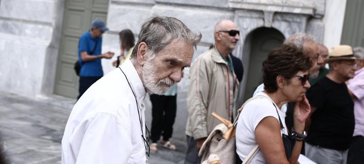 Συνταξιούχοι σε πορεία διαμαρτυρίας/ Φωτογραφία αρχείου: Eurokinissi