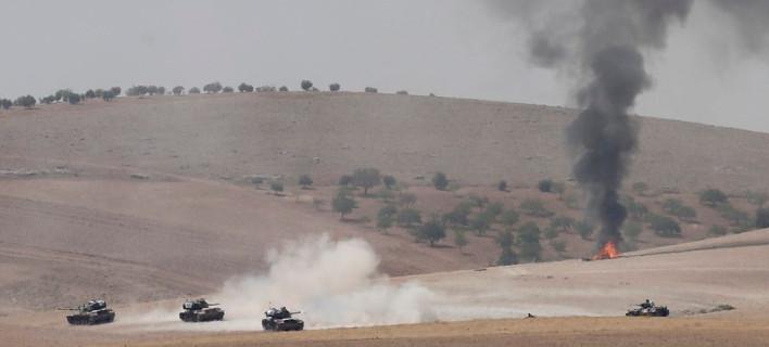 Η Συρία διαμαρτύρεται για την εισβολή της Τουρκίας: «Παραβίασε εθνική κυριαρχία»