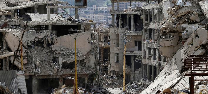 Κατεστραμμένα κτίρια στη Συρία/Φωτογραφία αρχείου:ΑΡ