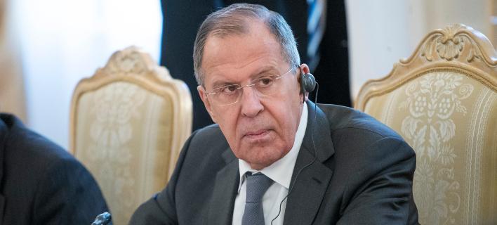 Ο Ρώσος ΥΠΕΞ Σεργκέι Λαβρόφ, Φωτογραφία: AP